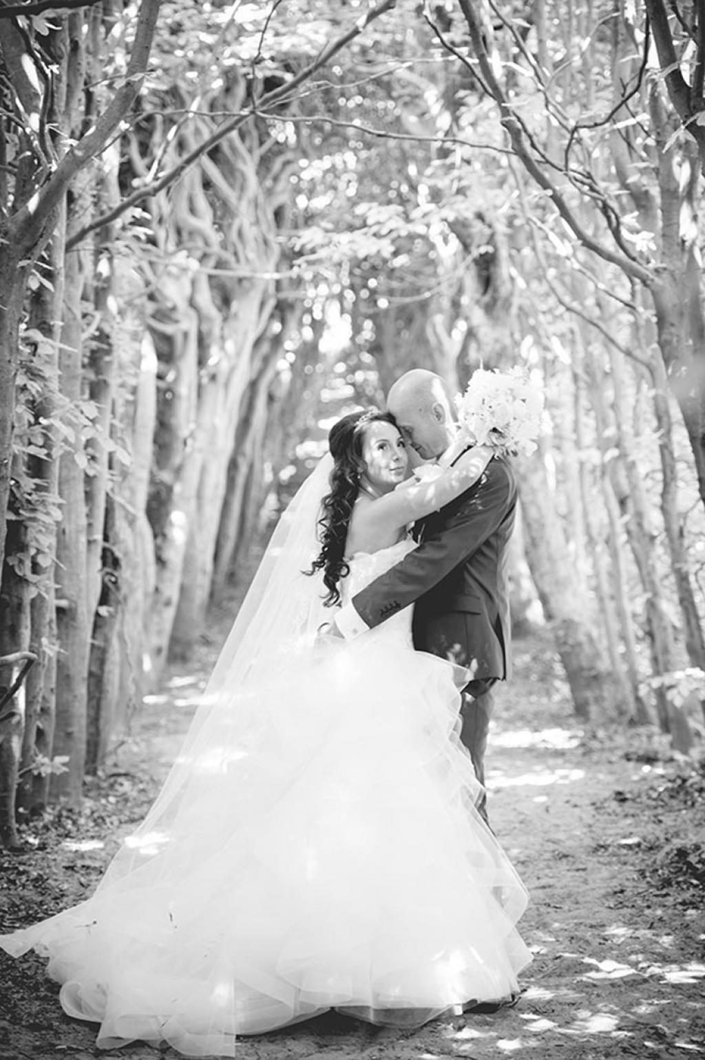 Bruidsfoto Walter & Yagmur