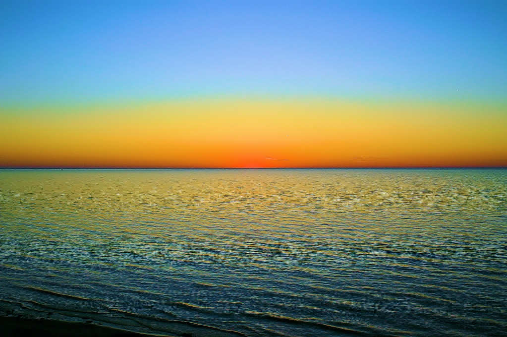 Zonsondergang - 2   Sunset - 2