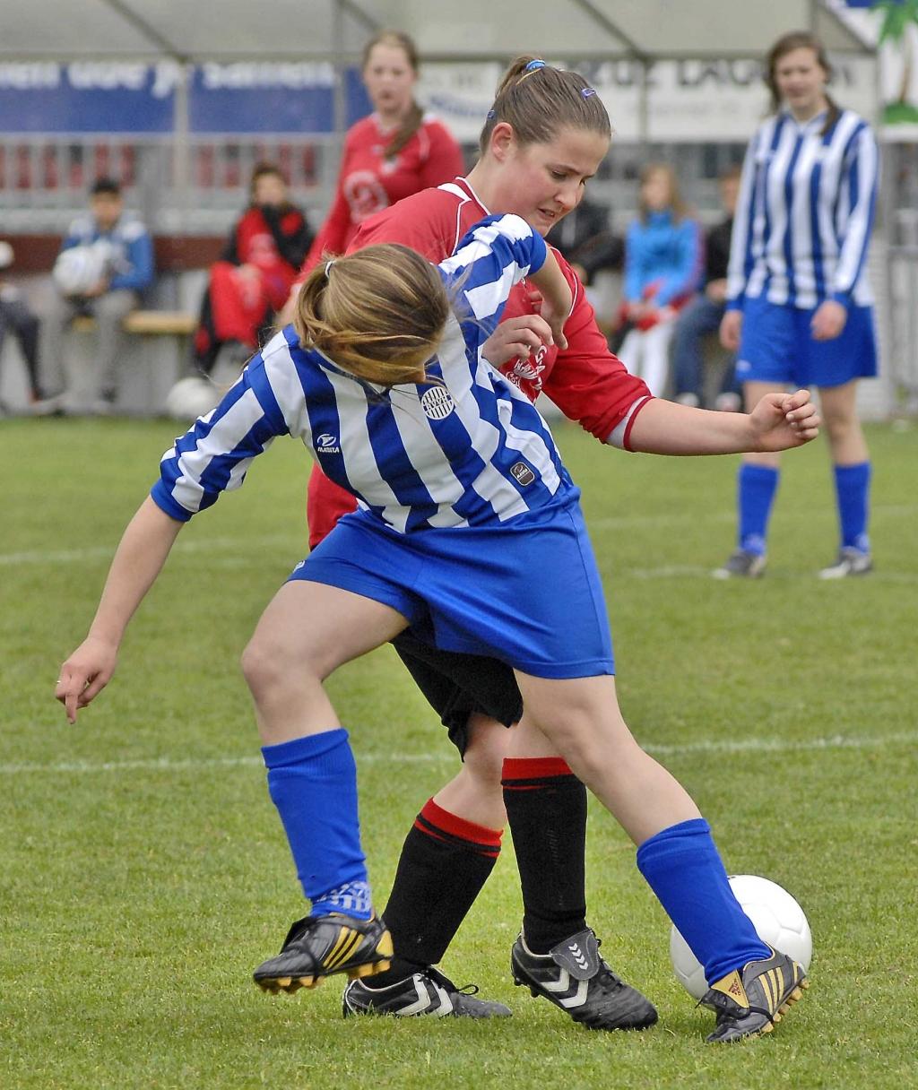 Vrouwenvoetbal is dankzij het Nederlands vrouwenvoetbal sterk in opkomst