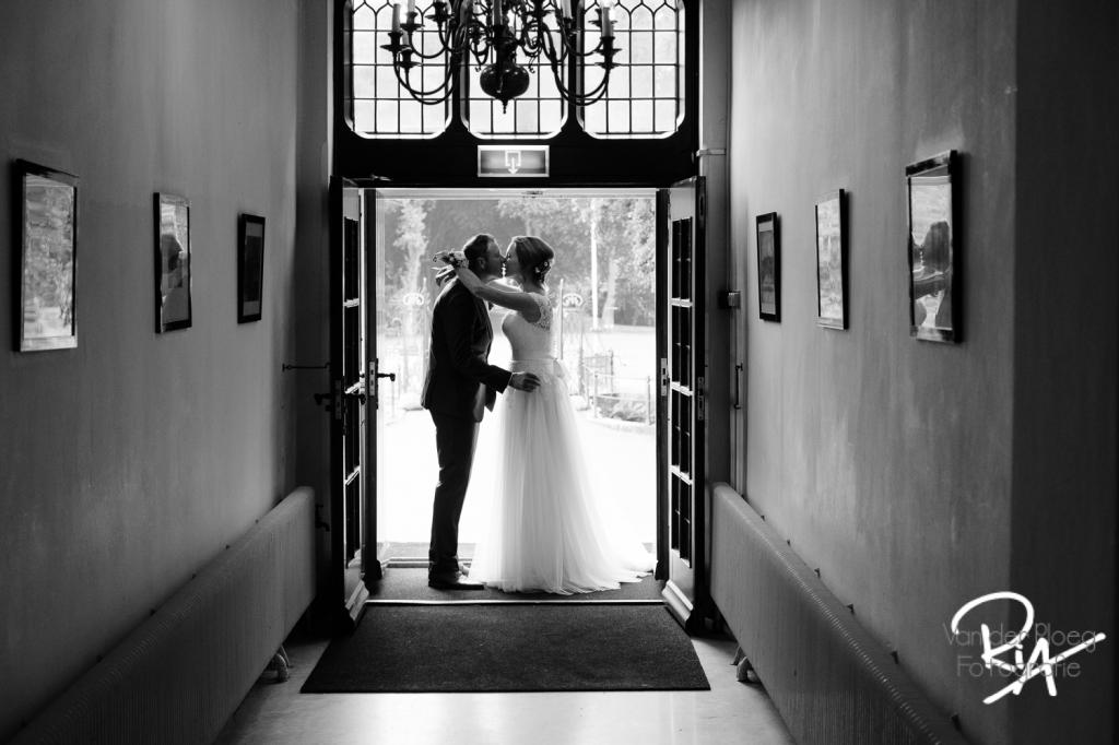 Bruidsfotografie met tegenlicht